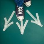 Choice, Teenager, Footpath.
