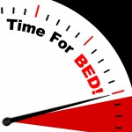 Time for Bed  Meaning Insomnia Or Tiredness