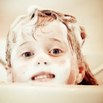 child-bath
