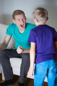 My husband gets angry with the kids – Welcome to